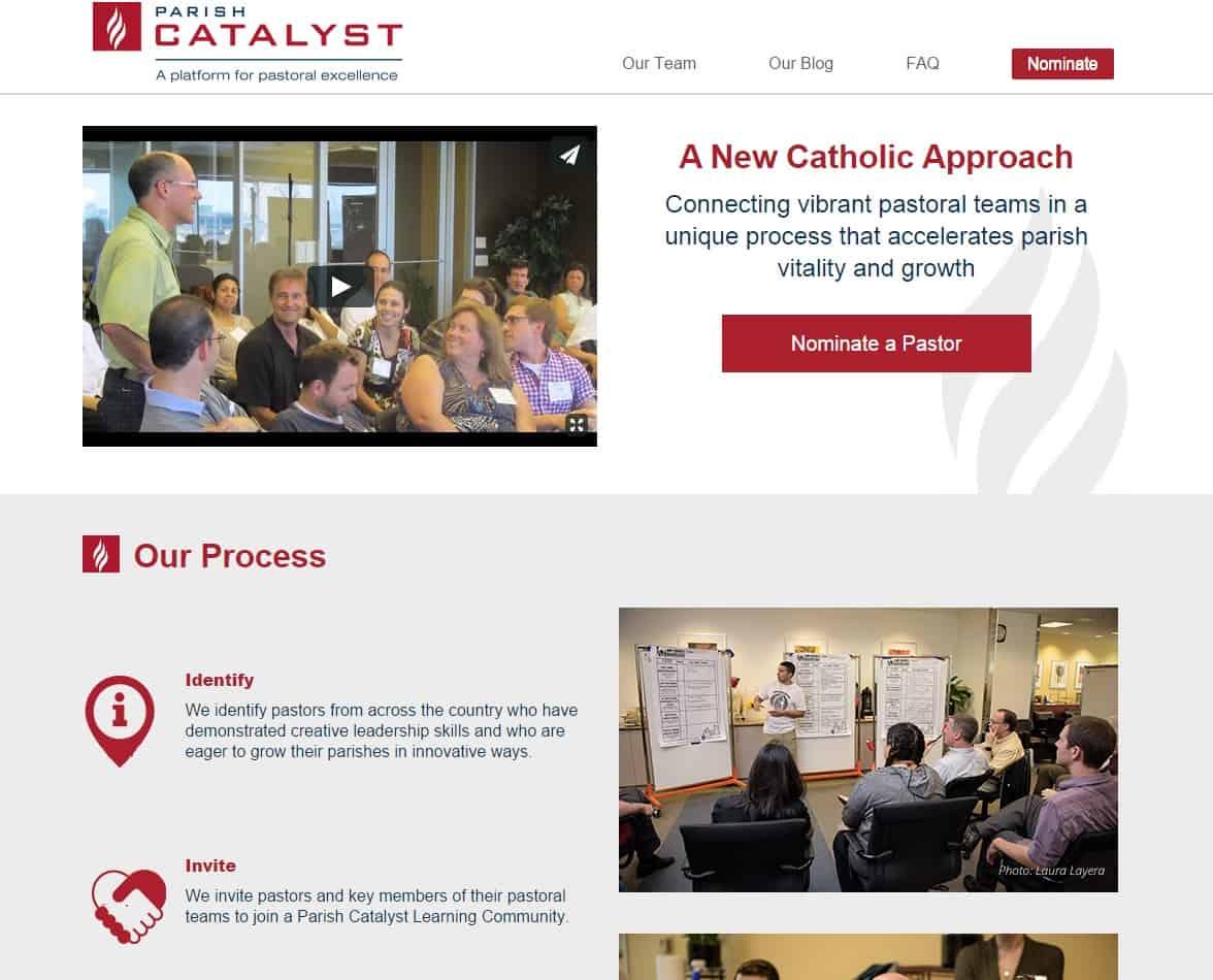 Strong Parish Websites | Parish Catalyst
