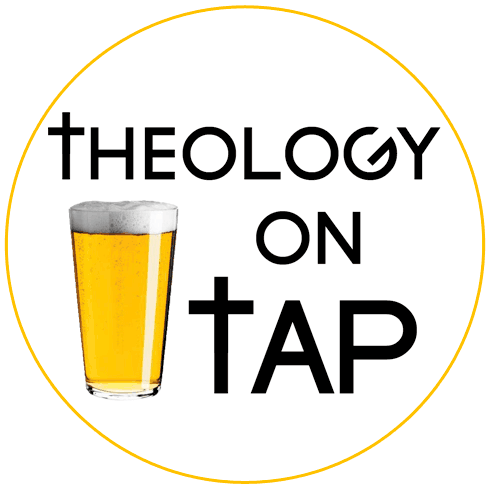 Image result for theology on tap logo